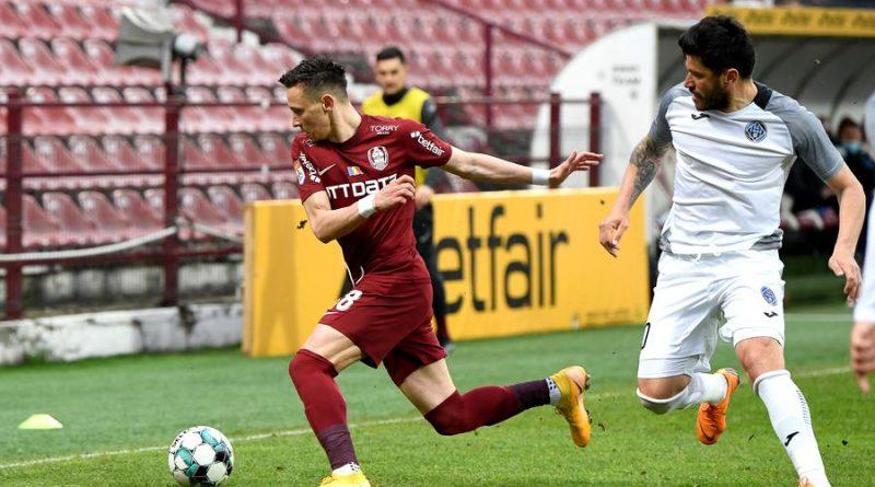 Academica-Clinceni-CFR-Cluj-Liga1